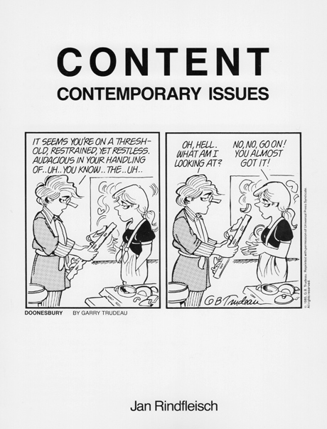 Content Art: Contemporary Issues
